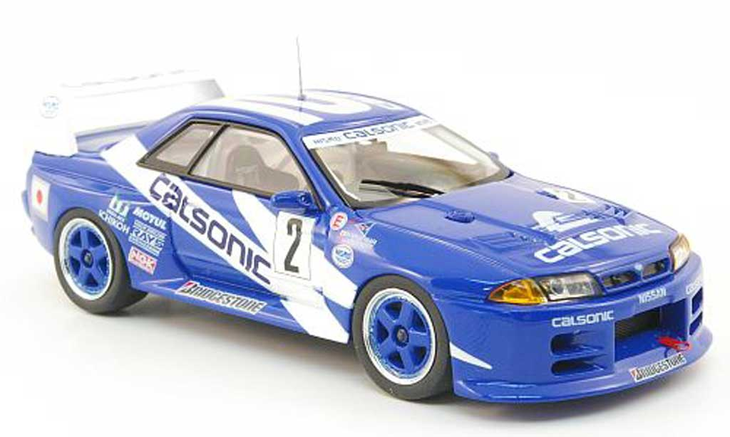 Nissan Skyline R32 Gt R No 2 Calsonic Suzuka 1993 Ebbro Diecast Model Car 1 43 Buy Sell