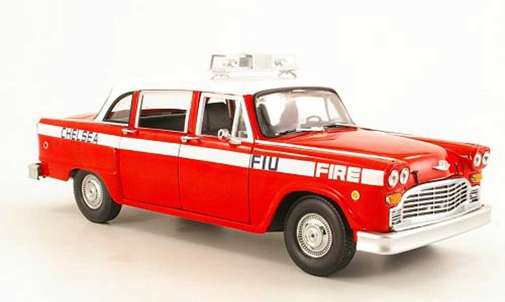 Checker Taxi 1/18 Sun Star A11 Chelsea Fire Engine Feuerwehr (US) modellautos