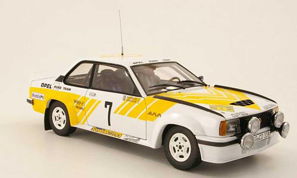 Opel Ascona B 1/18 Sun Star 400 No.8 Kullang/Berglund rallye Schweden 1980 miniature