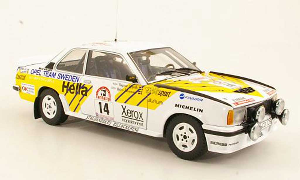 Opel Ascona 400 1/18 Sun Star 400 No.14 Opel Team Schweden Rally Finnland 1980 B.Johansson/R.Spjuth miniature
