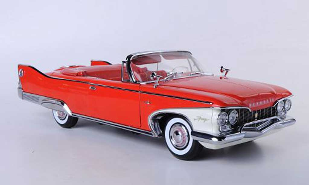 Plymouth Fury 1/18 Sun Star Convertible red 1960 diecast