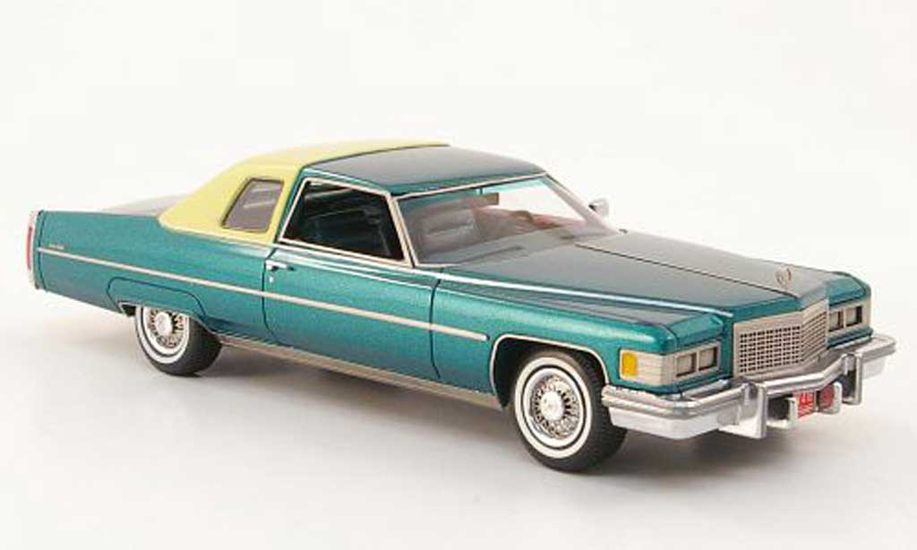 Cadillac Deville 1976 1/43 American Excellence 1976 Coupe grun/beige miniature