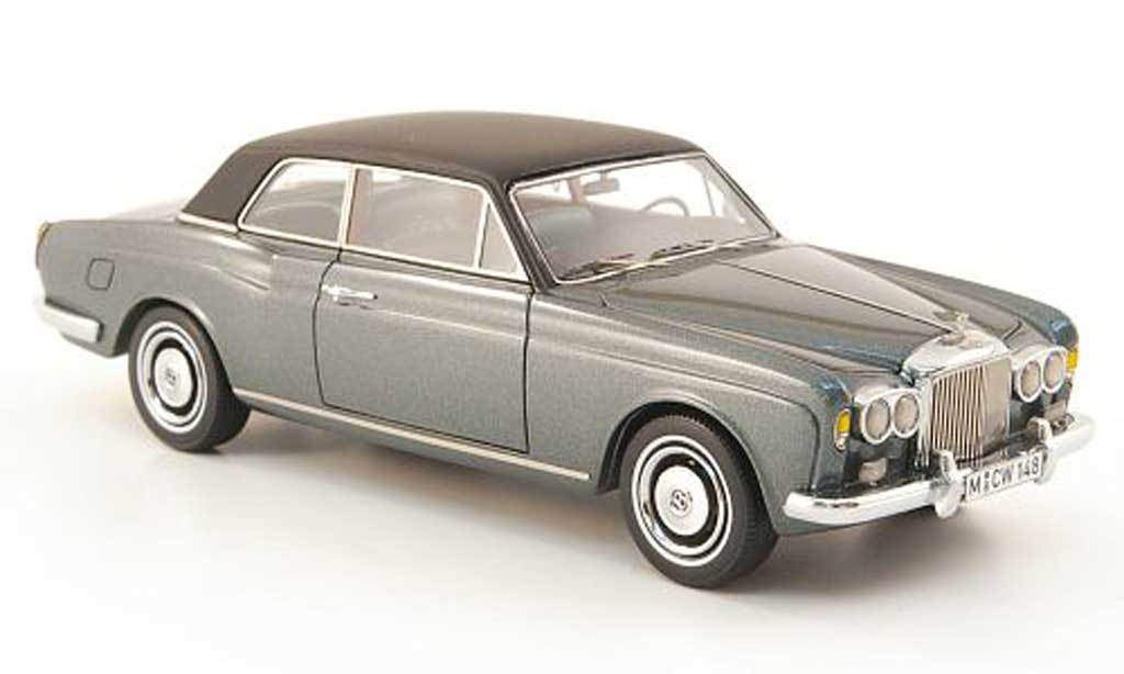 Bentley Corniche 1/43 Neo grise/noire limited edition 1971 miniature