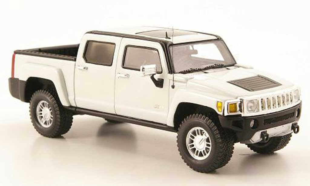 Hummer H3 1/43 Luxury Collectibles T blanche 2008 miniature