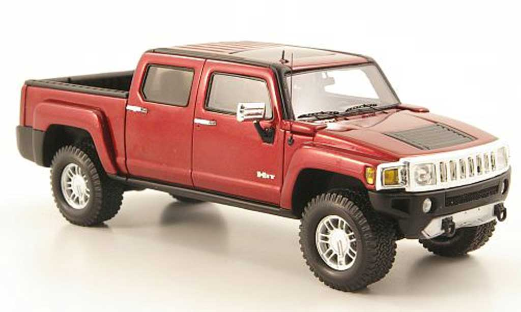 Hummer H3 1/43 Luxury Collectibles T rouge 2008 miniature