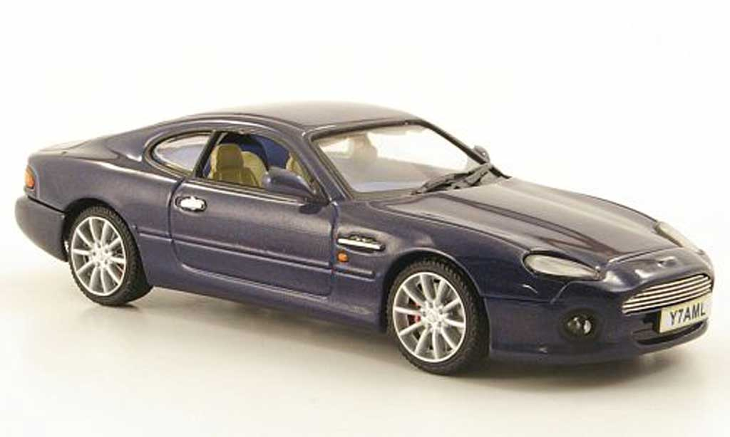 aston martin db7 vantage miniature bleu vitesse 1 43 voiture. Black Bedroom Furniture Sets. Home Design Ideas