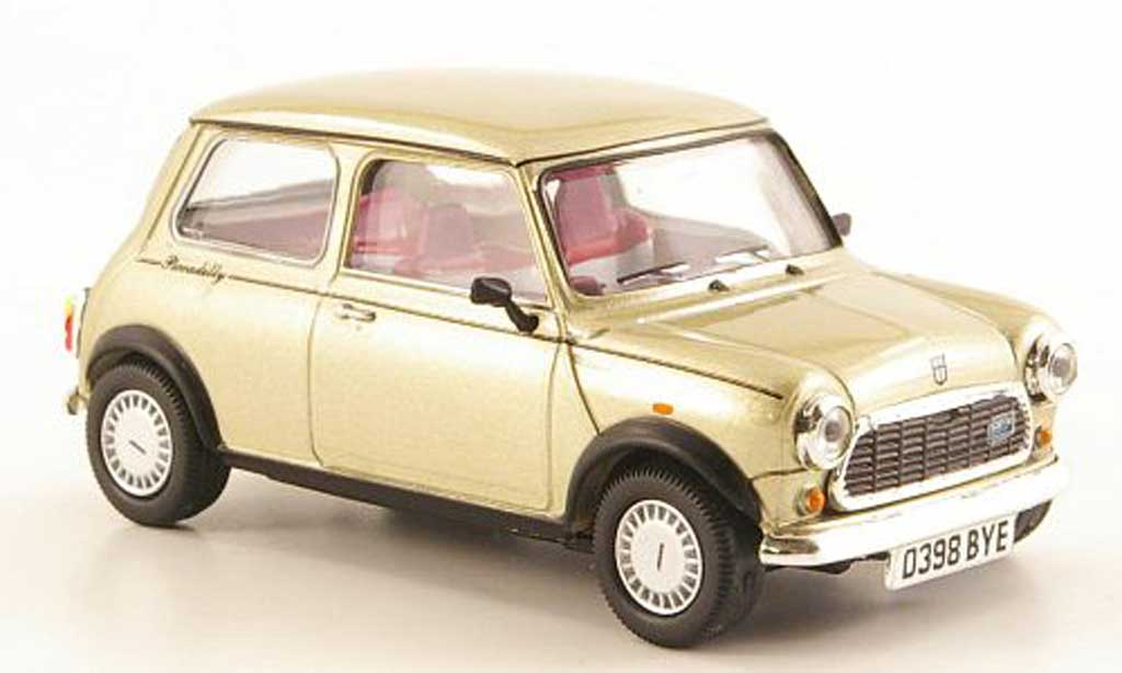 Austin Mini Cooper 1/43 Vitesse Piccadilly gold RHD 1986 miniature