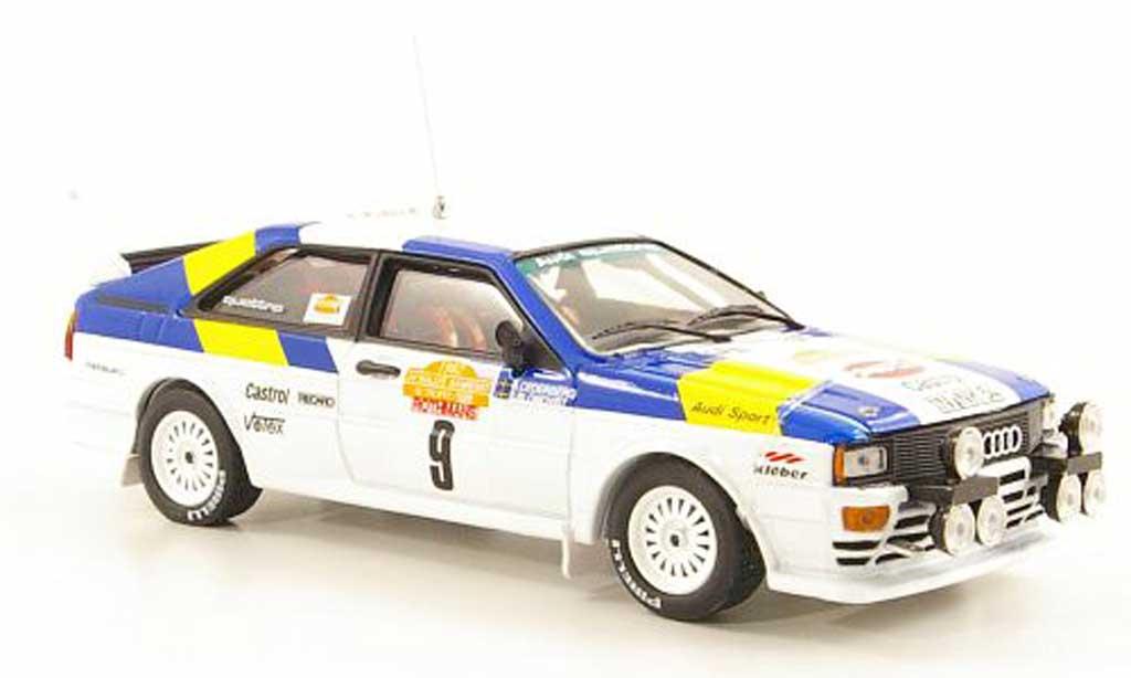 Audi Quattro 1/43 Vitesse No.9 S.Blomquist/B.Cederberg Rally Italien 1982 miniature