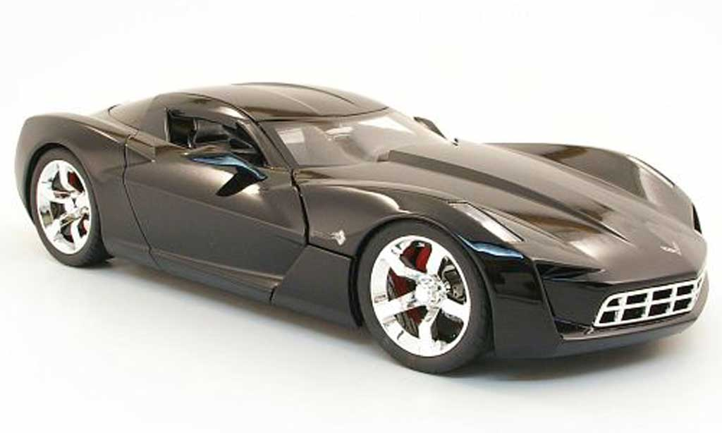 Chevrolet Corvette C6 1/18 Jada Toys Stingray 2009 concept black