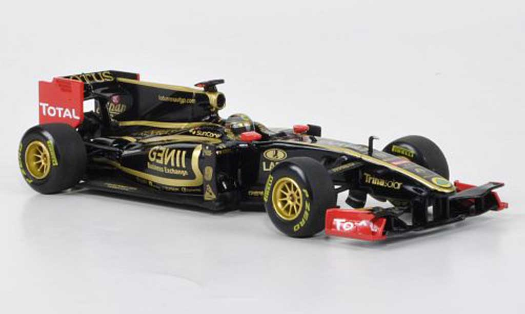 Renault F1 2011 1/43 Minichamps Lotus GP No.9 N.Heidfeld Showcar miniature