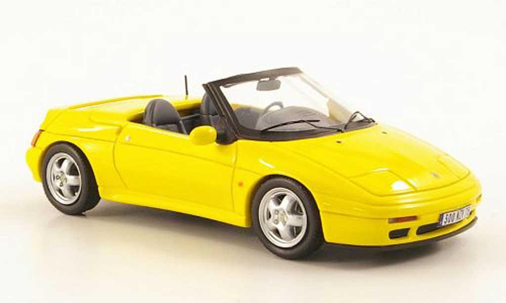 Lotus Elan 1/43 Premium X S2 (M100) gelb 1994 modellautos