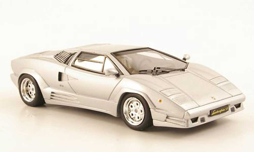 lamborghini countach 25th anniversary gris 1989 premium x coches miniaturas 1. Black Bedroom Furniture Sets. Home Design Ideas