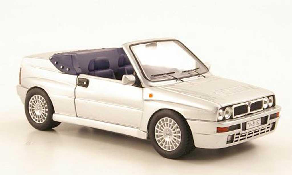 lancia delta hf integrale miniature cabriolet grise 1992 premium x 1 43 voiture. Black Bedroom Furniture Sets. Home Design Ideas