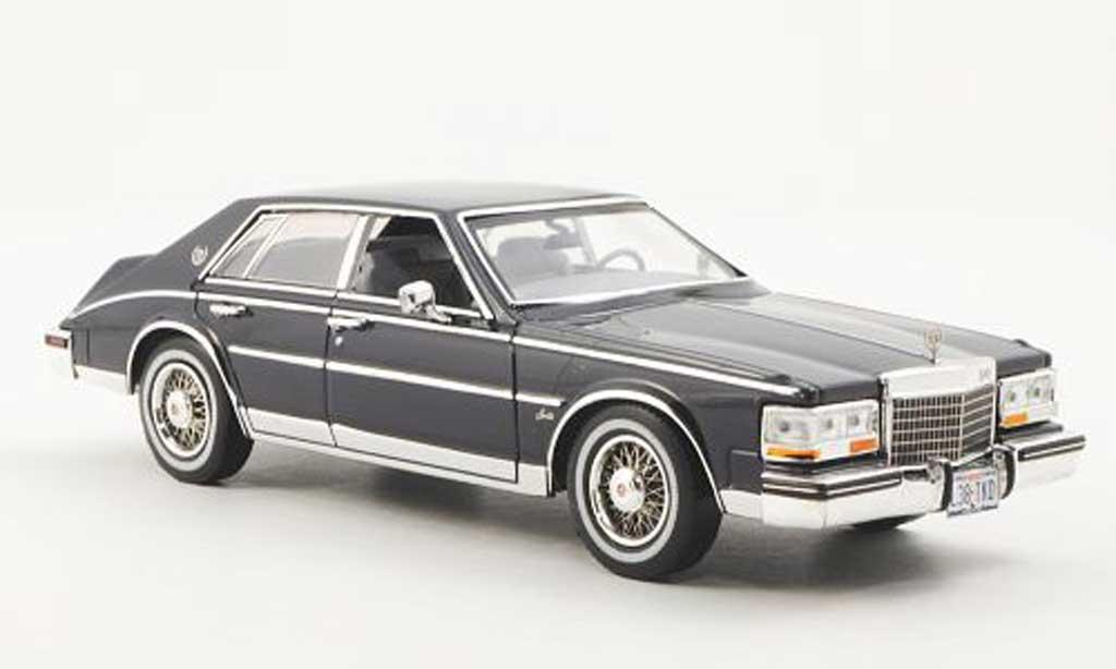Cadillac Seville 1980 1/43 Premium X Elegante bleu miniature