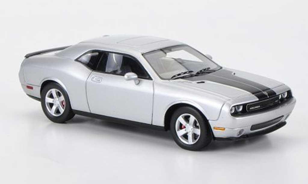 Dodge Challenger 2009 1/43 Premium X SRT8 grise /noire miniature