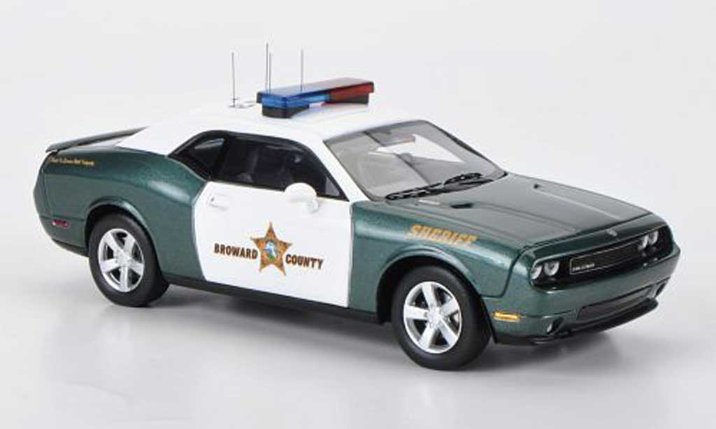 Dodge Challenger 2009 1/43 Premium X R/T Broward County Sheriff Polizei (USA) miniature