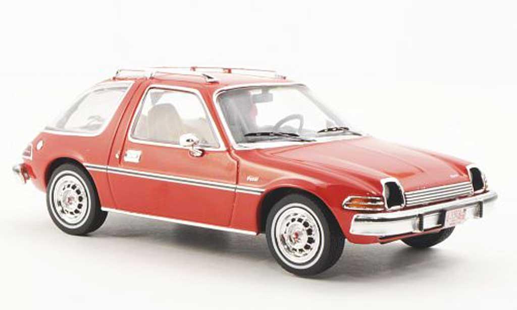 AMC Pacer 1/43 Premium X rouge 1975 miniature