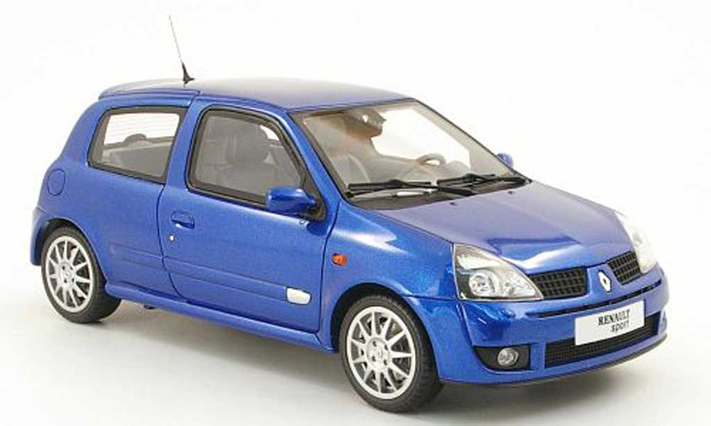 renault clio 2 rs jean ragnotti blau ottomobile modellauto 1 18 kaufen verkauf modellauto. Black Bedroom Furniture Sets. Home Design Ideas