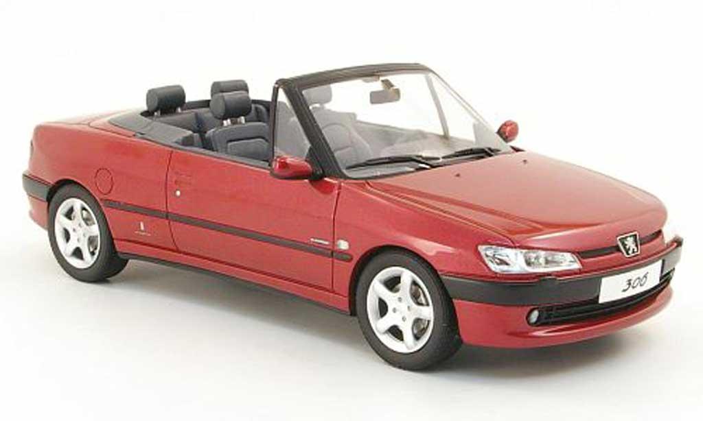Peugeot 306 Cabriolet 1/18 Ottomobile cabriolet rouge miniature