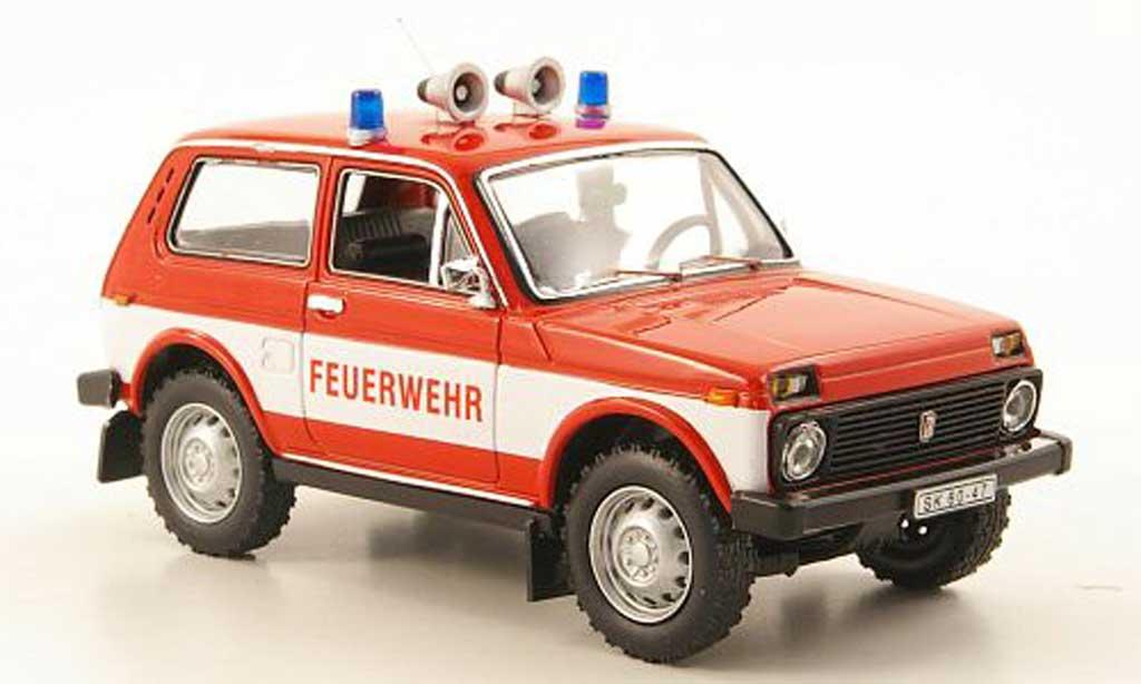 Lada Niva 1/43 IST Models pompier miniature