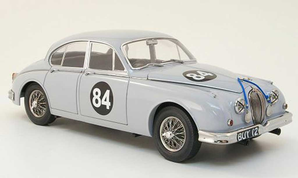 Jaguar MK 2 1/18 Model Icons 3.8 no.84 coombs racing - buy 1 rhd 1960 miniature