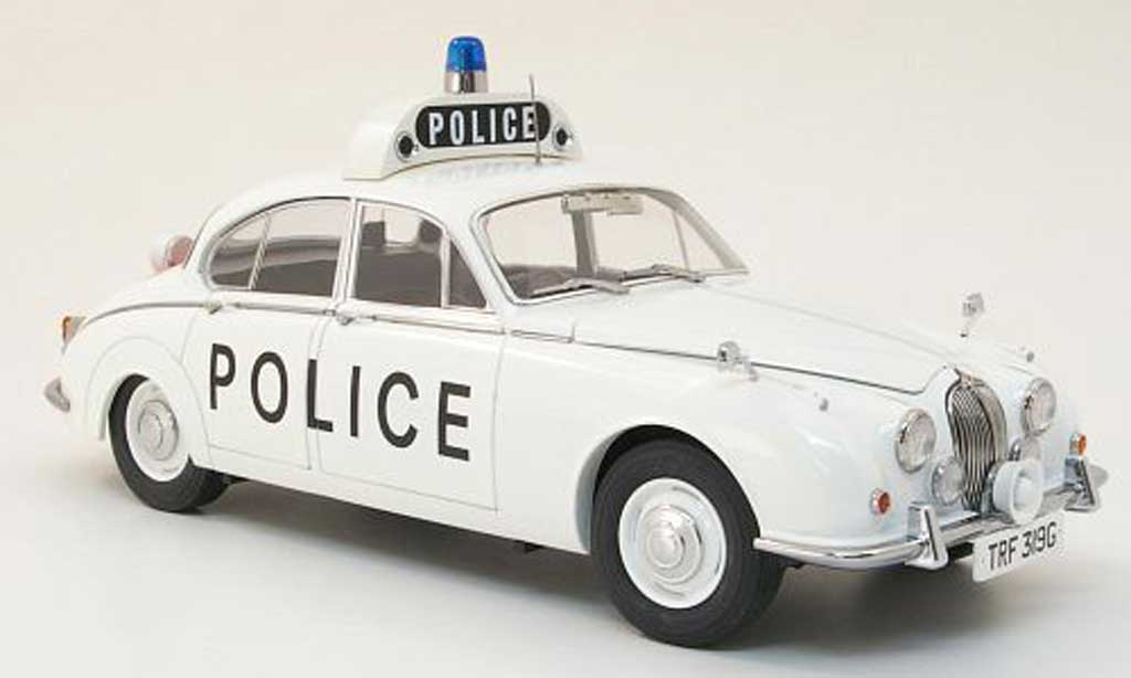 Jaguar 240 1/18 Model Icons staffordshire county and stoke on trent constabulary polizei (gb) rhd miniature