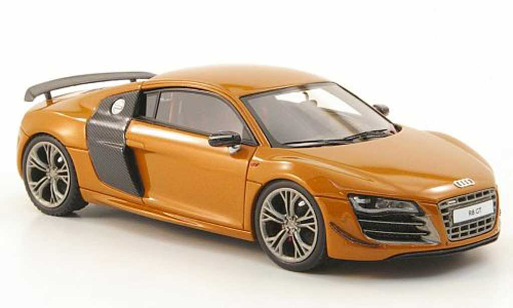 audi r8 gt orange look smart modellauto 1 43 kaufen verkauf modellauto online. Black Bedroom Furniture Sets. Home Design Ideas