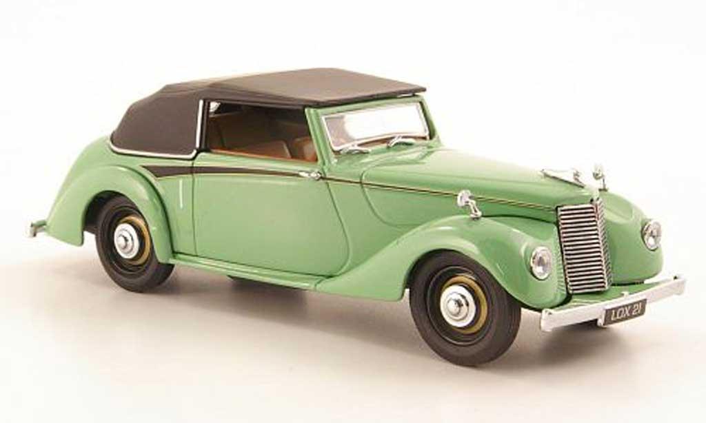 Armstrong Siddeley Hurricane 1/43 Oxford verte geschlossen miniature
