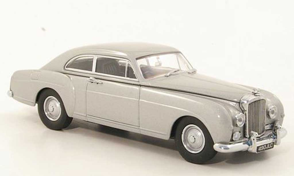 Bentley Continental S1 1/43 Oxford Fastback grise grise miniature