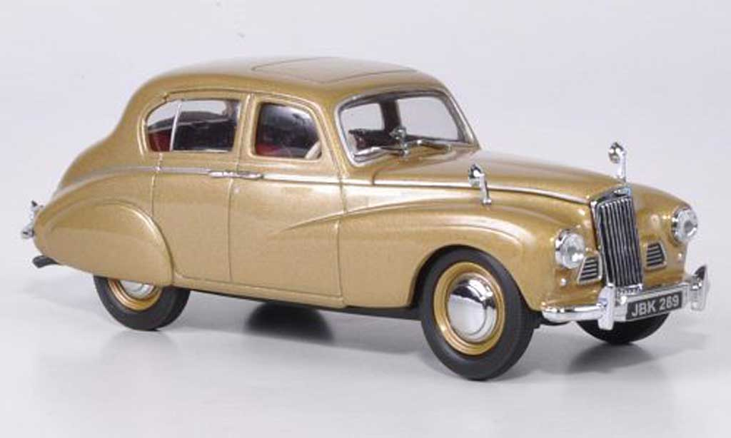 Sunbeam 90 1/43 Oxford Talbot MKII gold miniature