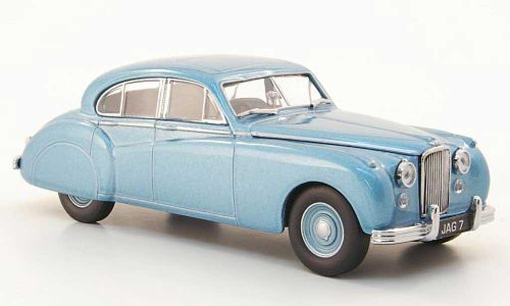 Jaguar MK 7 1/43 Oxford  bleu miniature