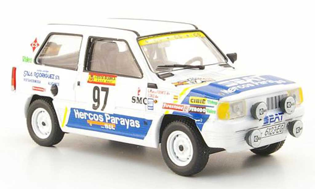 Seat Panda 1/43 Hachette 45 No.97 Rally Costa Blanca 1984 diecast model cars