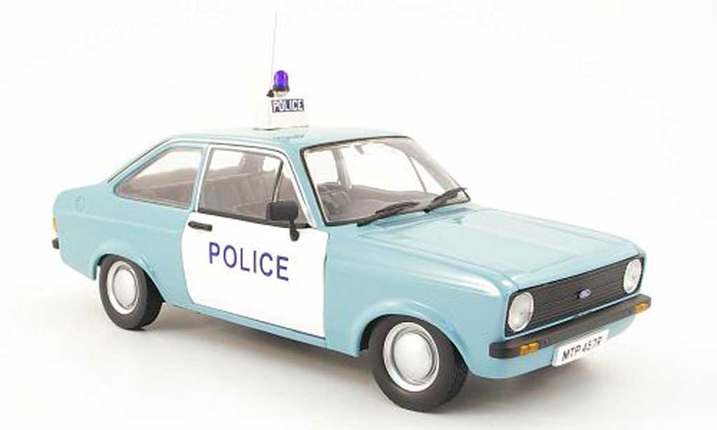 Ford Escort MK2 1/18 Model Icons mkii 1100 popular hampshire police 1977 miniature