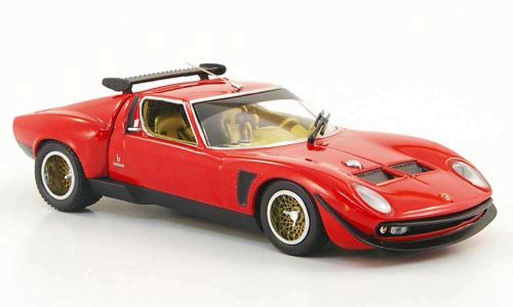 lamborghini p400 jota svr rot kyosho modellauto 1 43. Black Bedroom Furniture Sets. Home Design Ideas