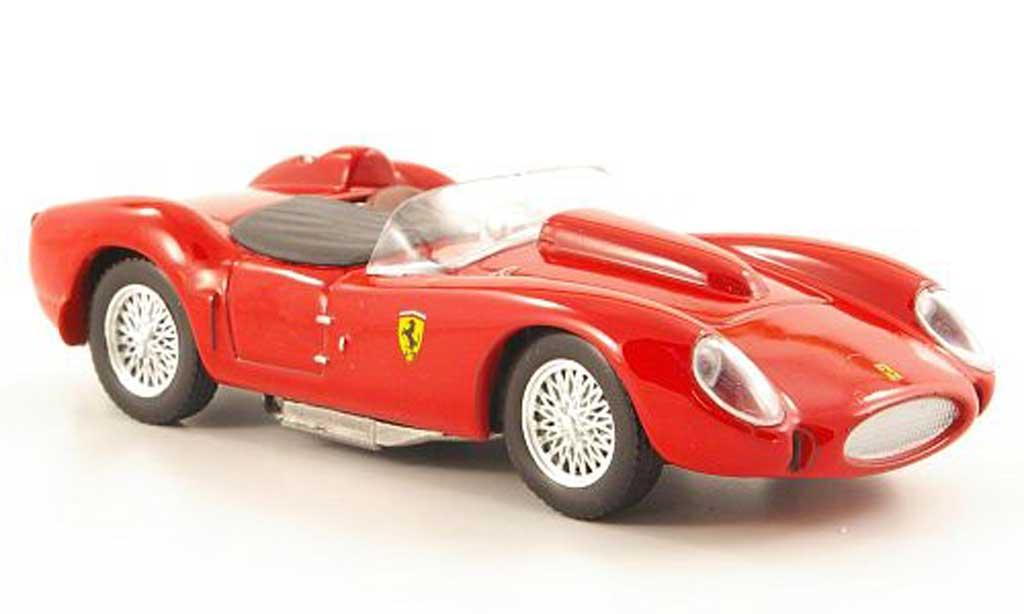 Ferrari 250 TR 1/43 Hachette rosso modellino in miniatura