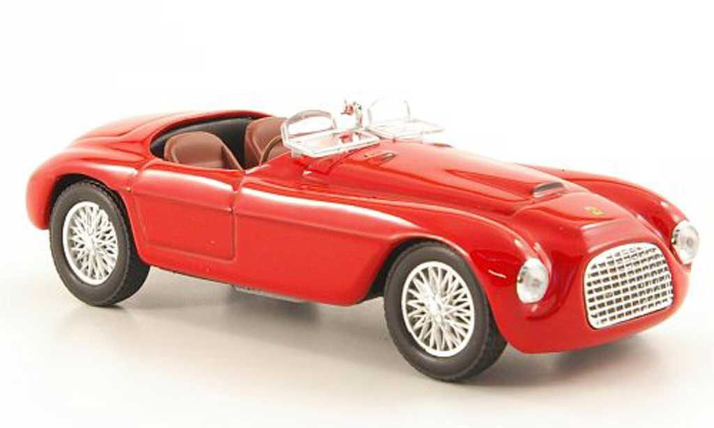 Ferrari 166 1/43 Hachette red MM