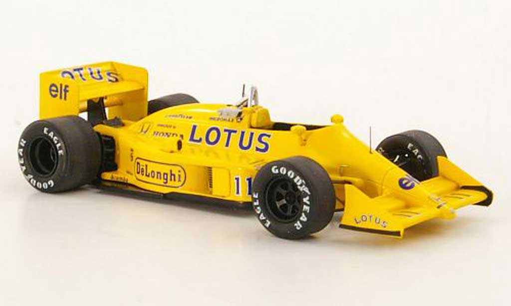 Lotus F1 1987 1/43 Reve Collection 99T No.11 S.Nakajima GP Grossbritannien miniature