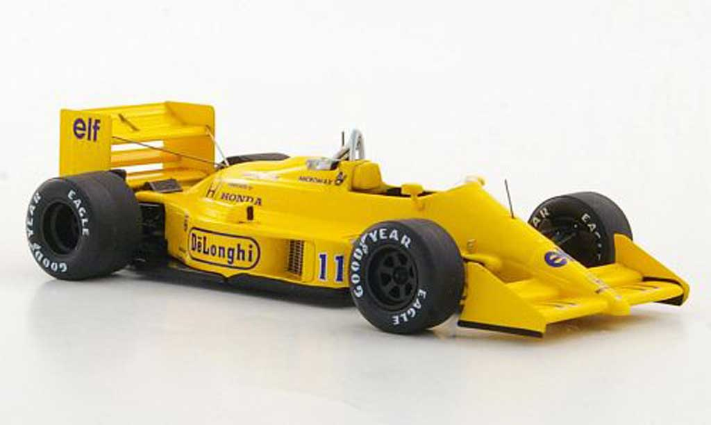 Lotus F1 1987 1/43 Reve Collection 99T No.11 Camel S.Nakajima GP Japan miniature
