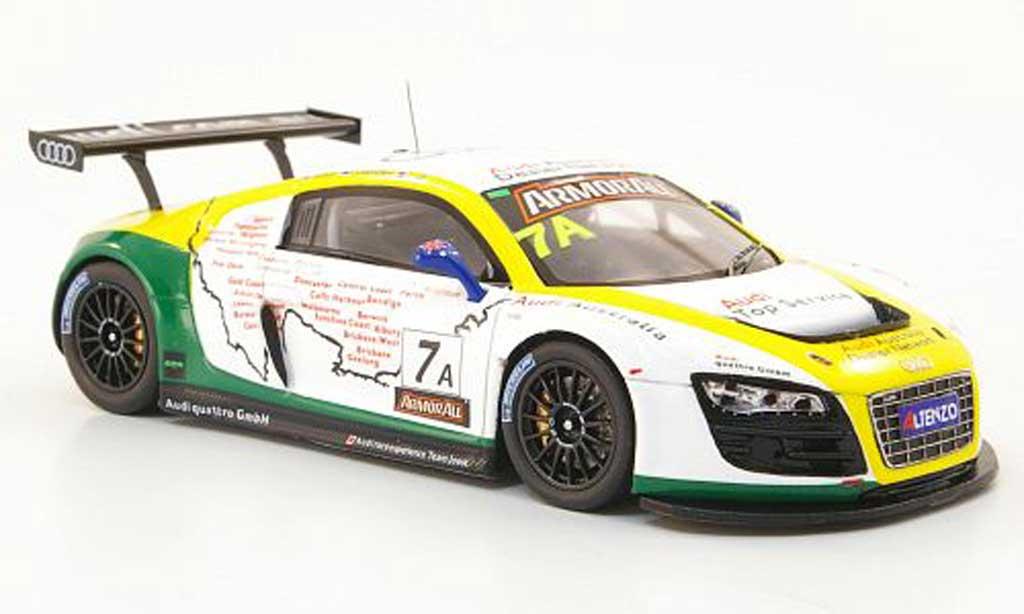 Audi R8 LMS 1/43 Spark GT3 No.7 audi.com.au 12h Bathurst 2011 miniature