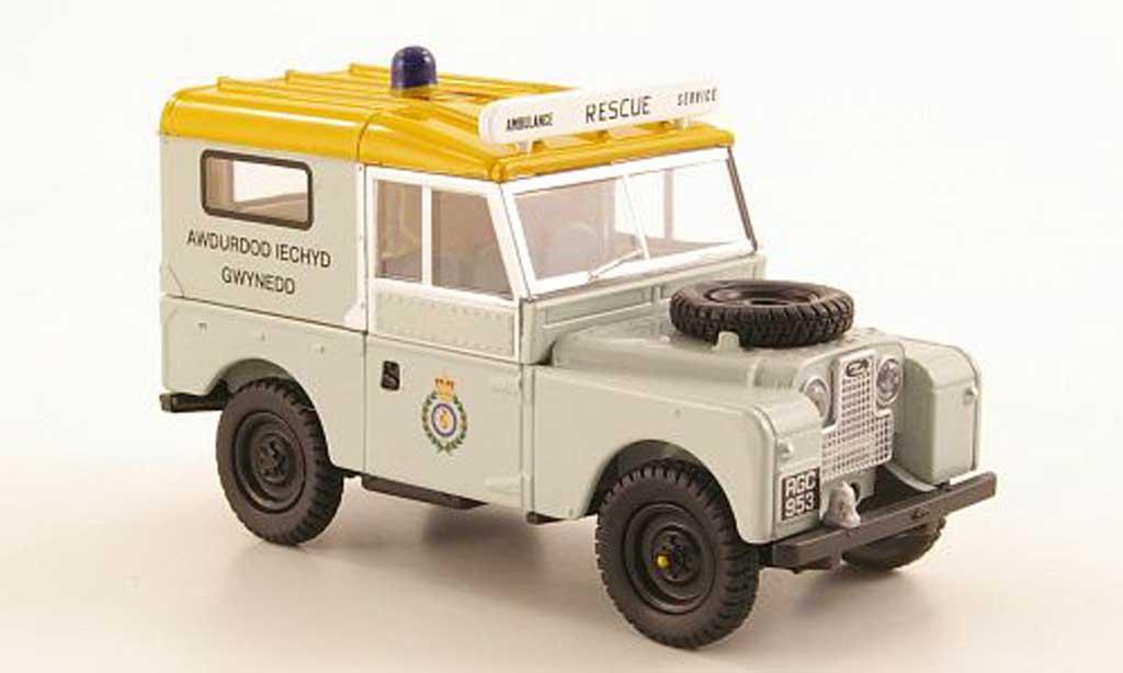 Land Rover 88 1/43 Oxford Series 1 Gwynedd Health Authority RHD miniature