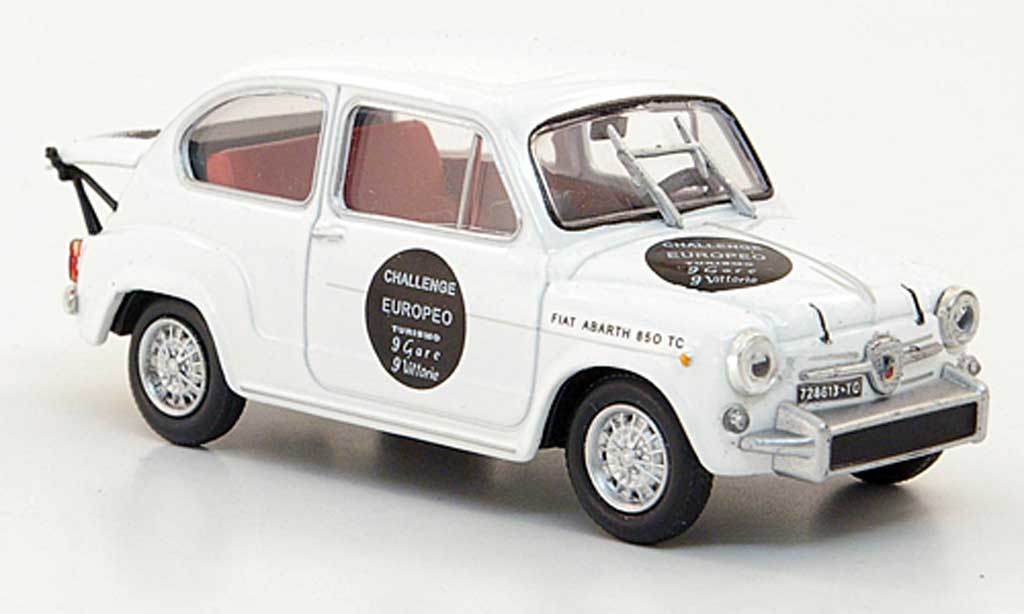 Abarth 850 TC 1/43 Hachette Corsa/65 blanche 1965 miniature