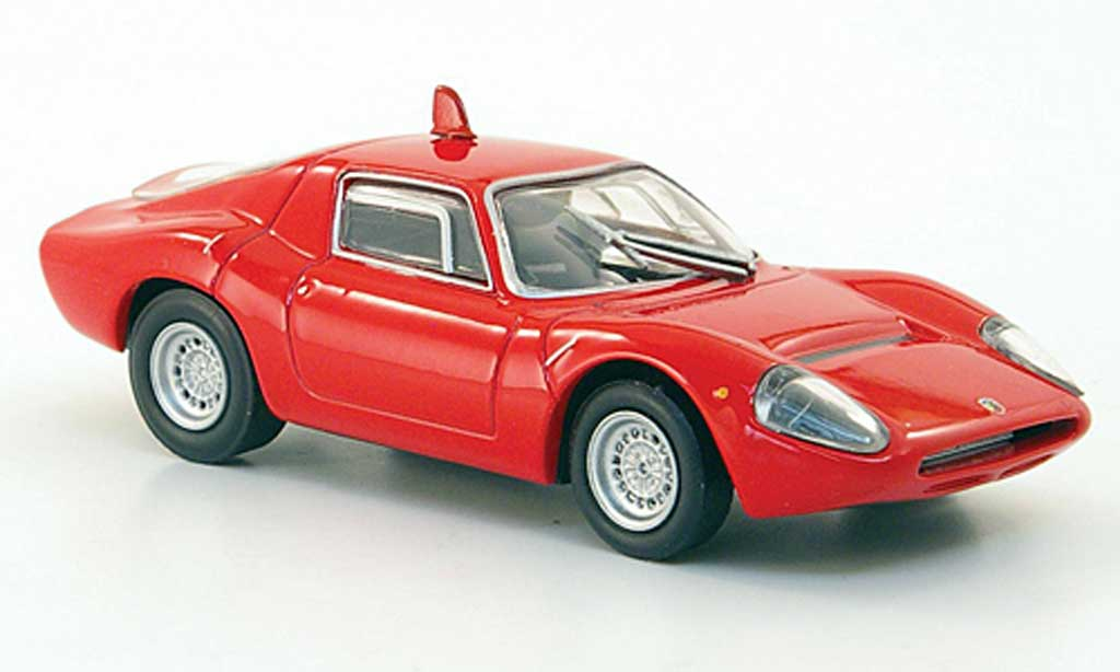 Abarth 1300 OT 1/43 Hachette Periscopio rouge 1967 miniature