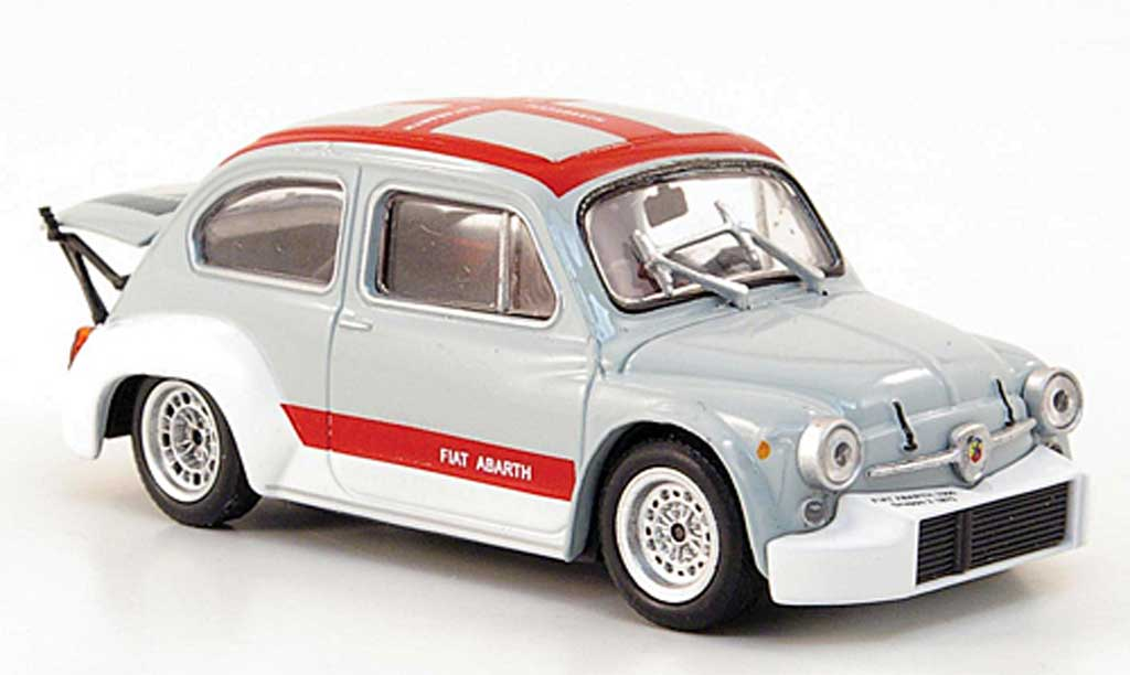 Abarth 1000 Berlina Corsa 1/43 Hachette Gr.2 grise/rouge miniature