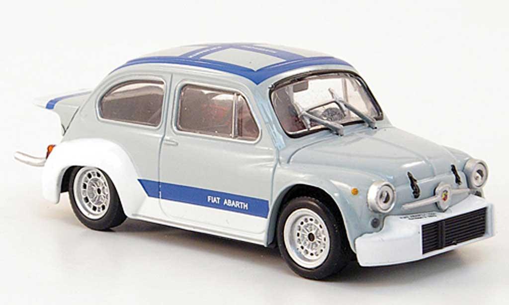 Abarth 1000 Berlina Corsa 1/43 Hachette Gr.2/70 grise/bleu 1971 miniature