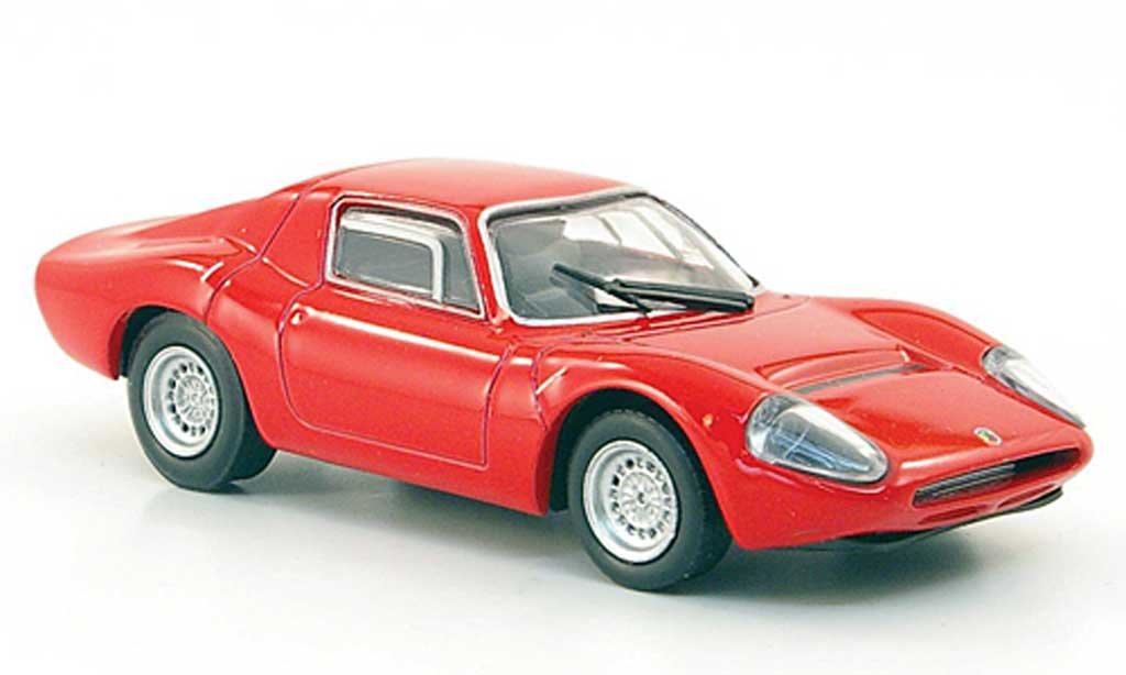 Abarth 1300 OT 1/43 Hachette rouge 1965 miniature