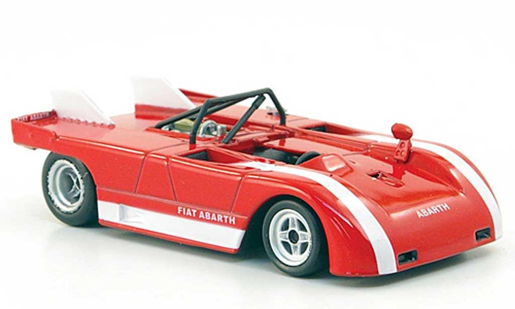 Abarth 2000 Sport Spider 1/43 Hachette Sport Spider (SE021) rouge 1971 miniature