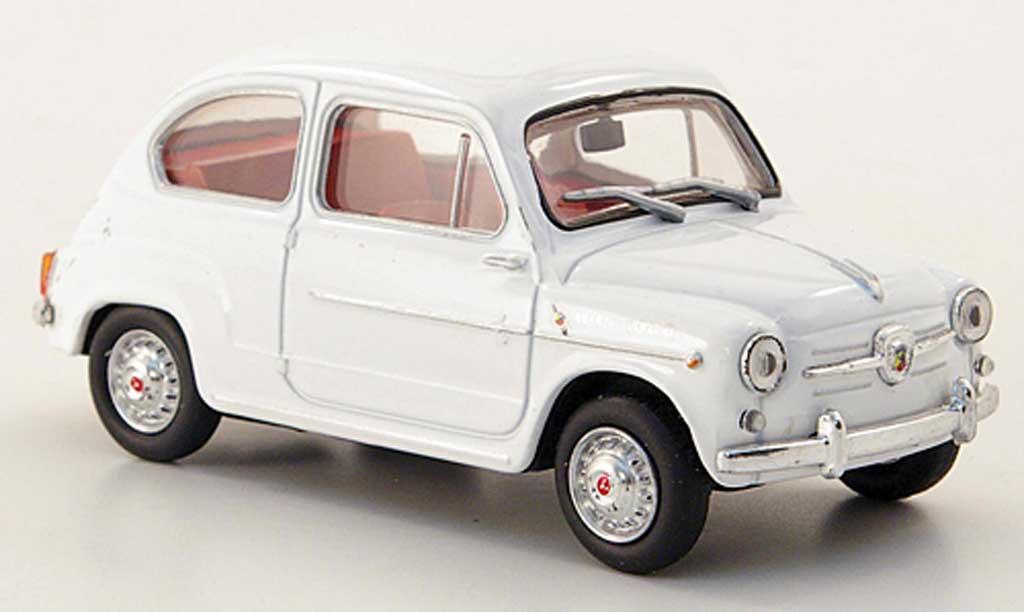 Abarth 1000 Berlina Corsa 1/43 Hachette blanche 1963 miniature