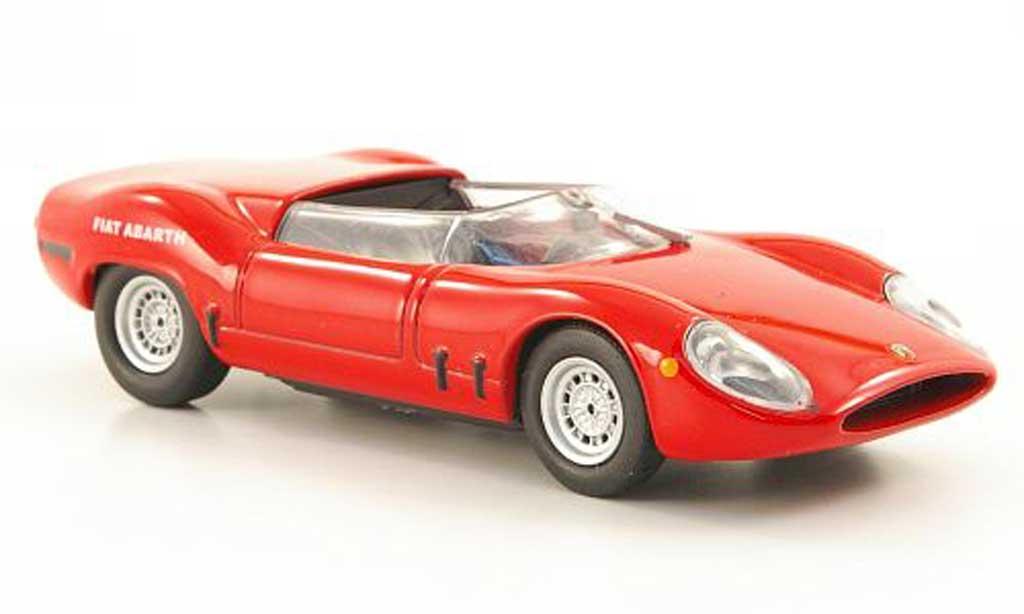 Fiat 2000 1/43 Hachette Abarth OT Sport Spider rouge 1966 miniature