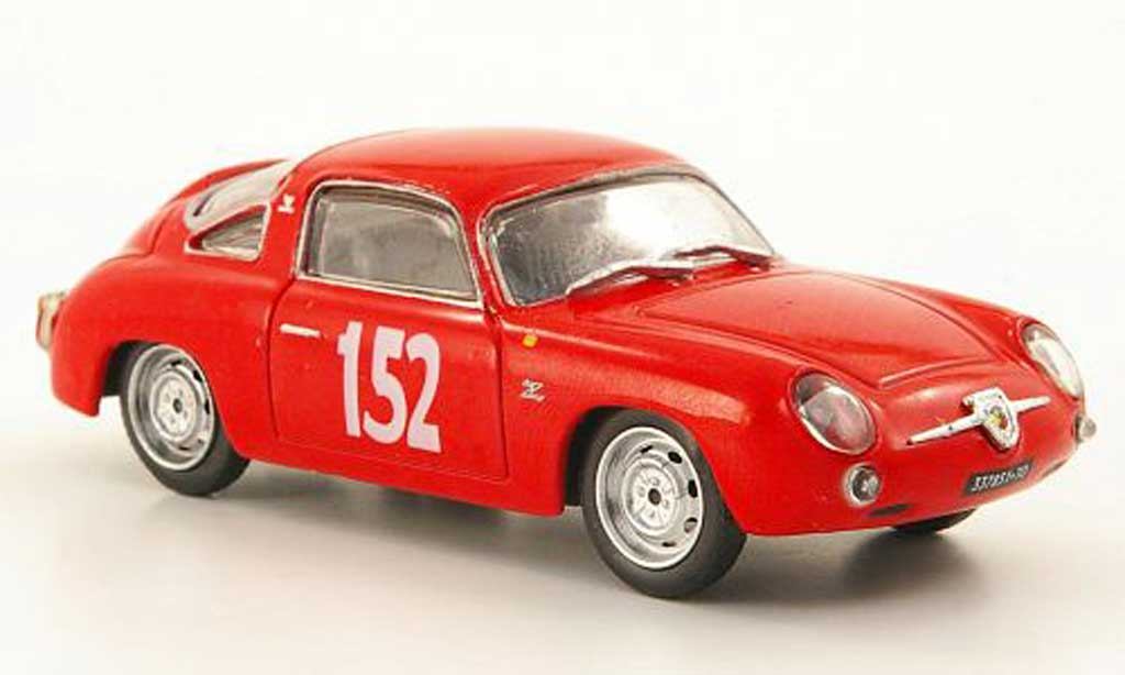 Abarth 700 R.M 1/43 Hachette Giovi No.152 1960 miniature