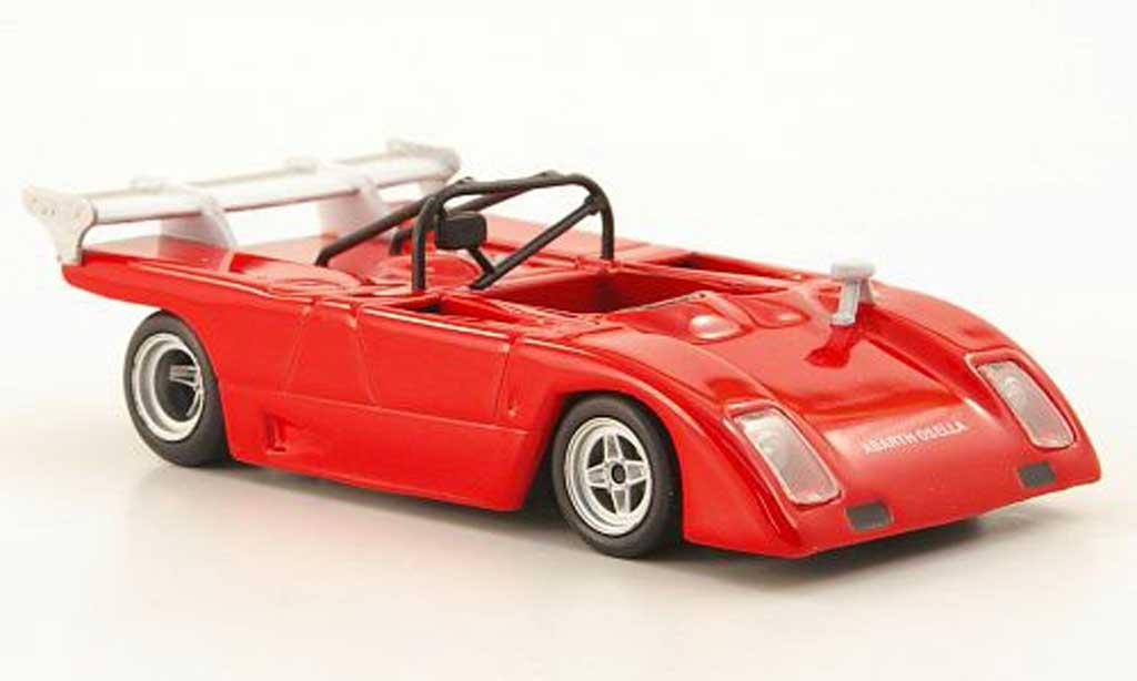 Abarth 2000 Sport Spider 1/43 Hachette Sport Spider Osella rouge 1972 miniature